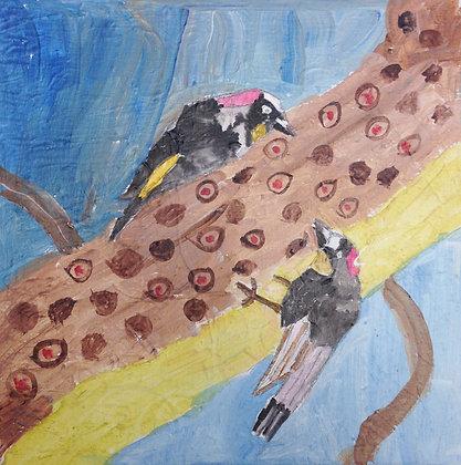"""Jocelyn Triggle- """"Woodpeckers"""""""