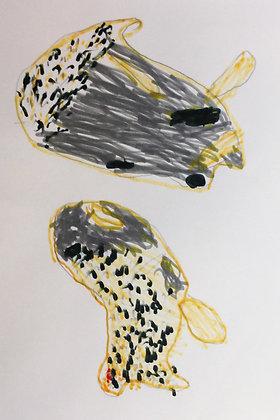 "Don Solberg- ""Leopard Slug"""