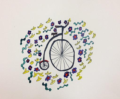 """Lisa Kobis- """"Big Wheel & Birdies"""""""