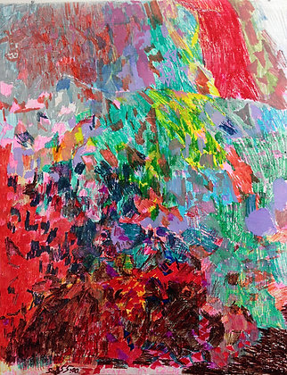 """Sonya Lewis- """"All the Color"""""""