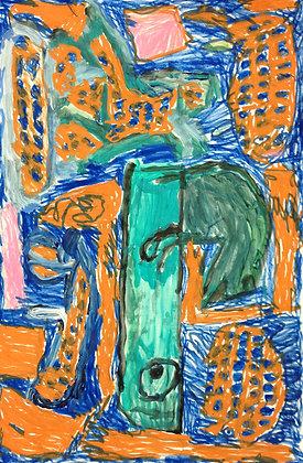 "Donald Solberg- ""Koi Pond"""