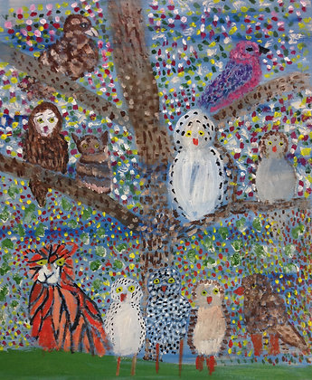 """Jocelyn Triggle- """"Birds of a Feather"""""""