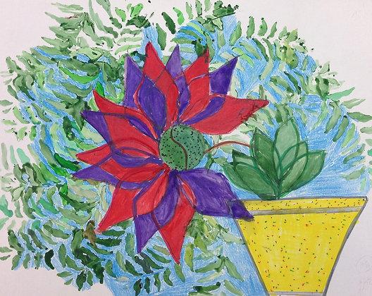 """Debbie Medwin- """"Houseplant"""""""