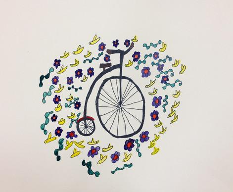 Big Wheel & Birdies- Lisa Kobis