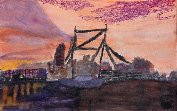 "Eric Johnson- ""Industrial Landscape"""