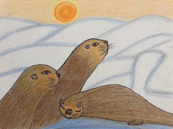 """Zeyneb Johnson- """"Otter"""""""