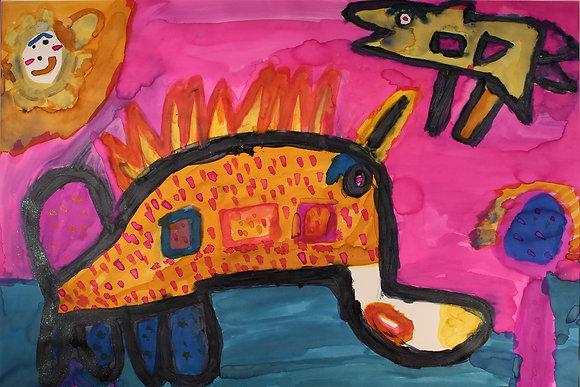"John Price- ""Unicorn Dinosaur"""