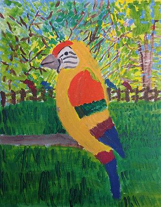 """Jocelyn Triggle- """"Parrot"""""""