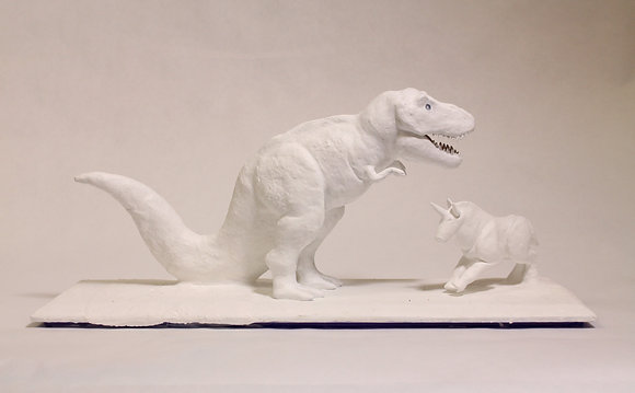 "Chace Lobley- ""T-Rex and Unicorn"""