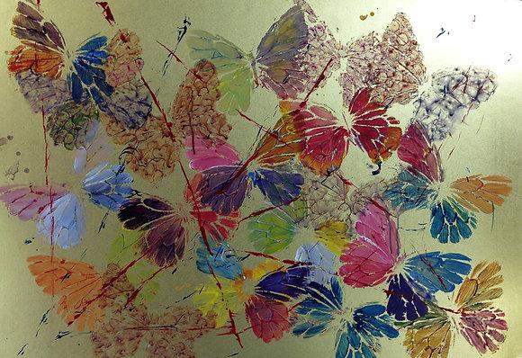 """Debbie Medwin- """"Butterflies in the Garden"""""""