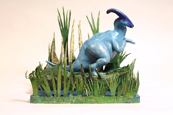 """Chace Lobley- """"Dino in Swamp"""""""