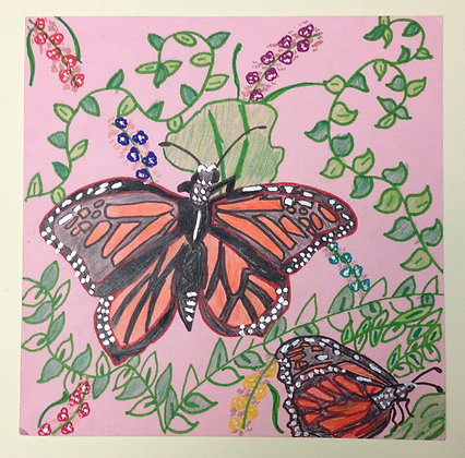 "Kelly Evans- ""Monarch By My Side"""