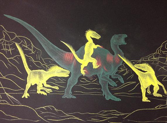"""Chace Lobley- """"Dino Struggle"""""""