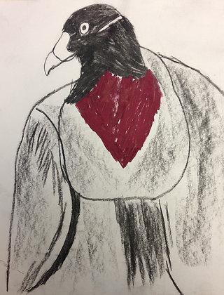 "John Budney-""Cormorant"""
