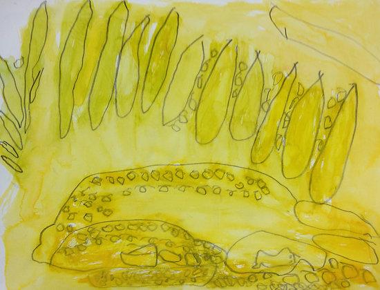 "Donald Solberg- ""Golden Field"""
