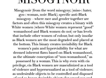 Internalized Misogynoir Quiz--By Dr. Tyffani Dent