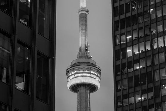 CN Tower filling the gap, Canada