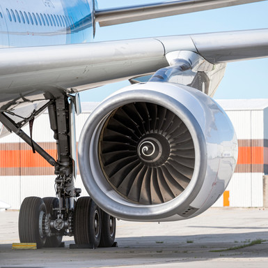 Engine of an Airbus A330