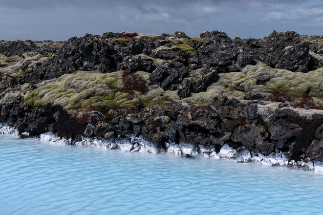 Mineral waters near the Blue Lagoon