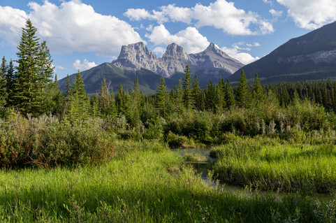 Three Sisters, Alberta