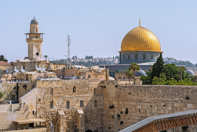 Temple Mount and the Wailing Wall