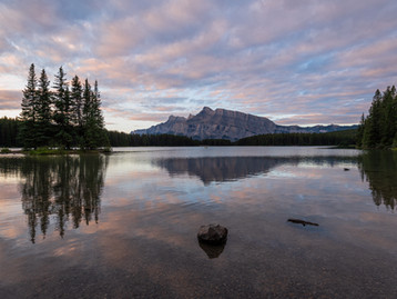 VIEWS OF MOUNT RUNDLE