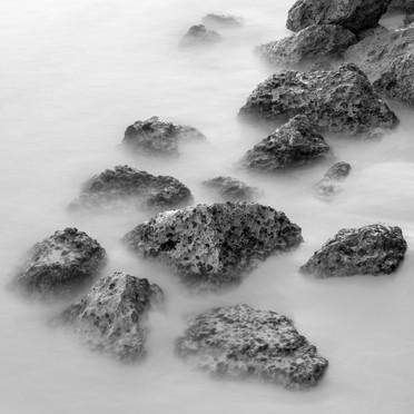 Rocks in low tide, Island of New Providence