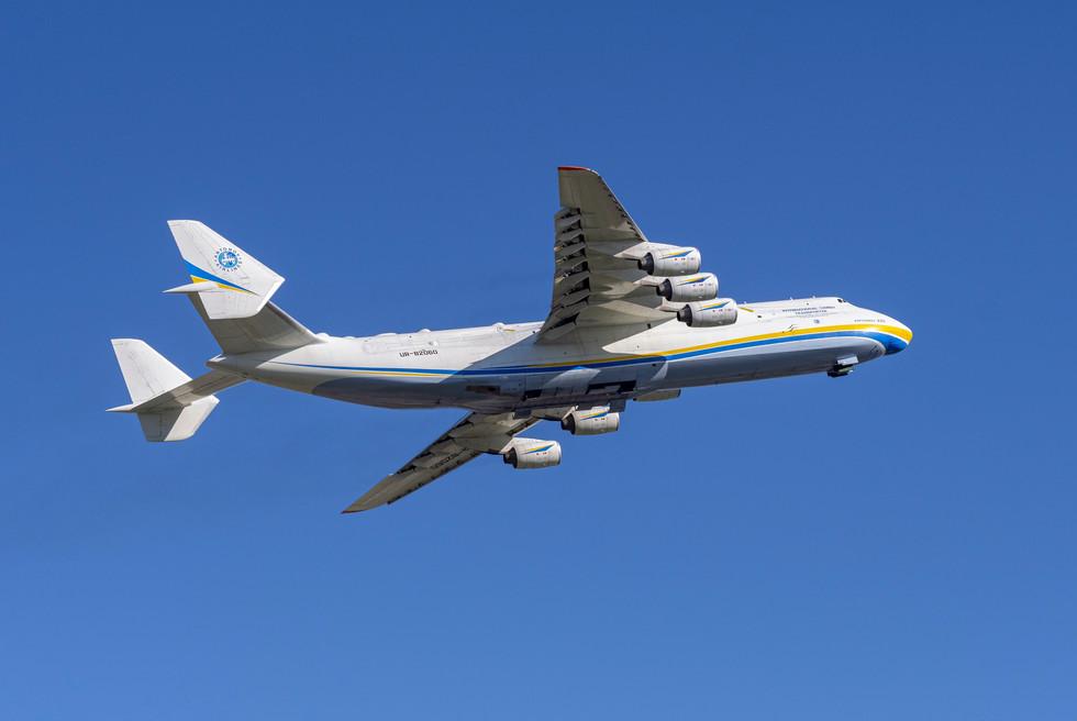 Antonov An-225 on route to Anchorage, AK
