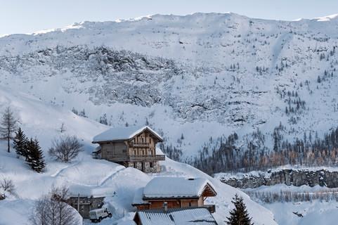Morning in an alpine village, Savoie province
