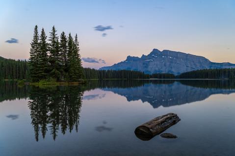 Mount Rundle, Alberta