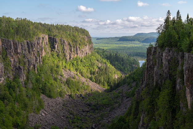 Ouimet Canyon, August 2020