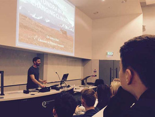 Geography Lecture at Queen's University Belfast