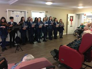 Carol Singing in Local Nursing Home