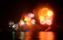 New-year-celebration-Firework-at-Jumeira