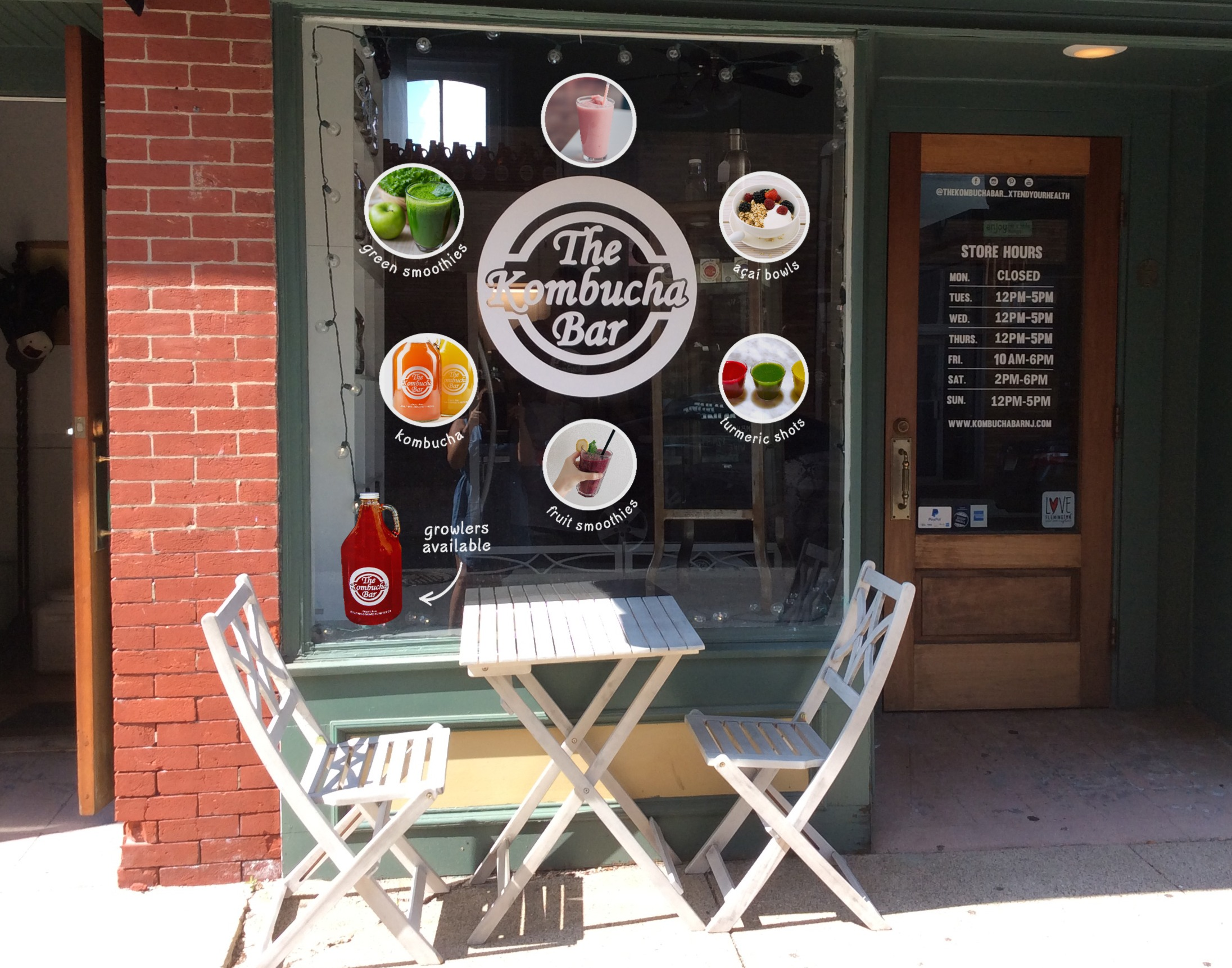Store Front Decal Mock-up