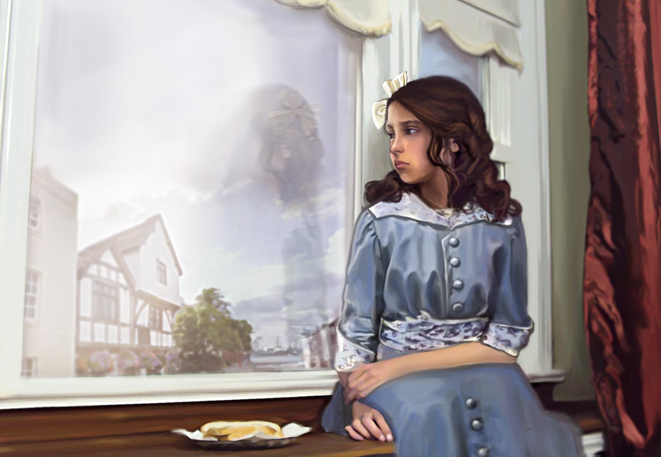 Skylark & Emma: children's book digital illustration