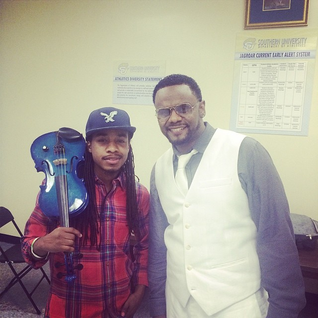 Shaun Ward w/ Carl Thomas