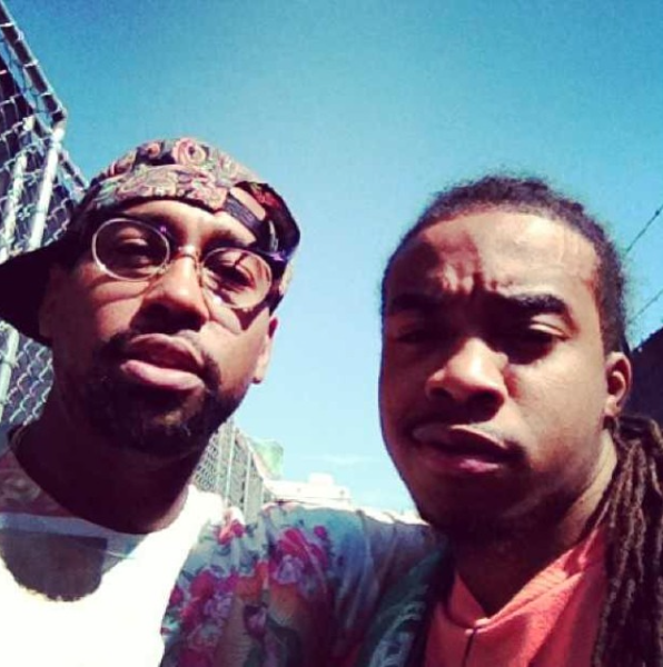 Shaun Ward w/ PJ Morton of Maroon 5
