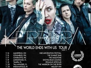 Kerbera Announce USA Tour