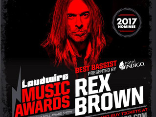 """Rex Brown nominated as """"Best Bassist"""" at Loudwire Music Awards 2017"""