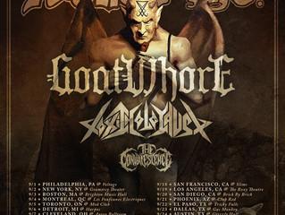 The Convalescence Tour with Venom Inc, Goatwhore