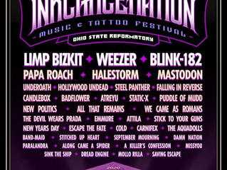 Inkcarceration Festival 2020 Lineup!