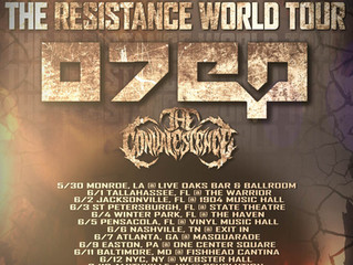 The Resistance Tour PT.2 featuring: OTEP, The Convalescence