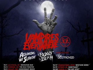 Vampires Everywhere Signs with Cleopatra Records with new Video and Tour Dates!