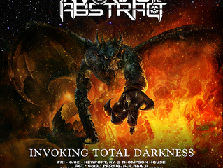 INVOKING THE ABSTRACT: JUNE TOUR WITH ENFOLD DARKNESS