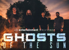 Ghosts Of The Sun debut 'Aether' and join CB Entertainment!