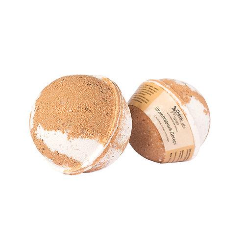 """Гейзер для ванны """"Шоколадный десерт"""", с морской солью и маслами ChocoLatte"""