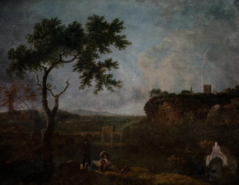 richard wilson painting, gail timms