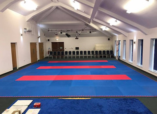 Club grading today!