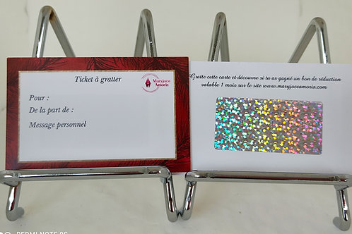 Ticket à gratter